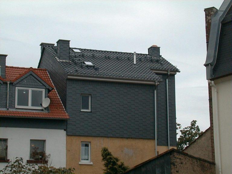 Fassade und Fassadendämmung